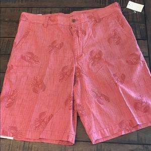 """Izod Saltwater Lobster Shorts 33"""" Waist 🦞"""